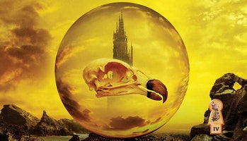 The fourth book in Stephen King's 'Dark Tower' series, 'Wizard and Glass