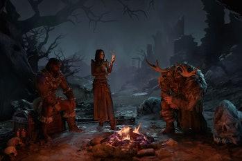 diablo 4 blizzard blizzcon 2019 classes druid sorceress barbarian