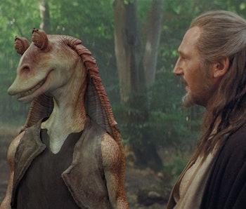 Liam Neeson Says Jar Jar Binks Went To The Dark Side