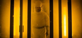 Chief Hopper infiltrates yet another lab?