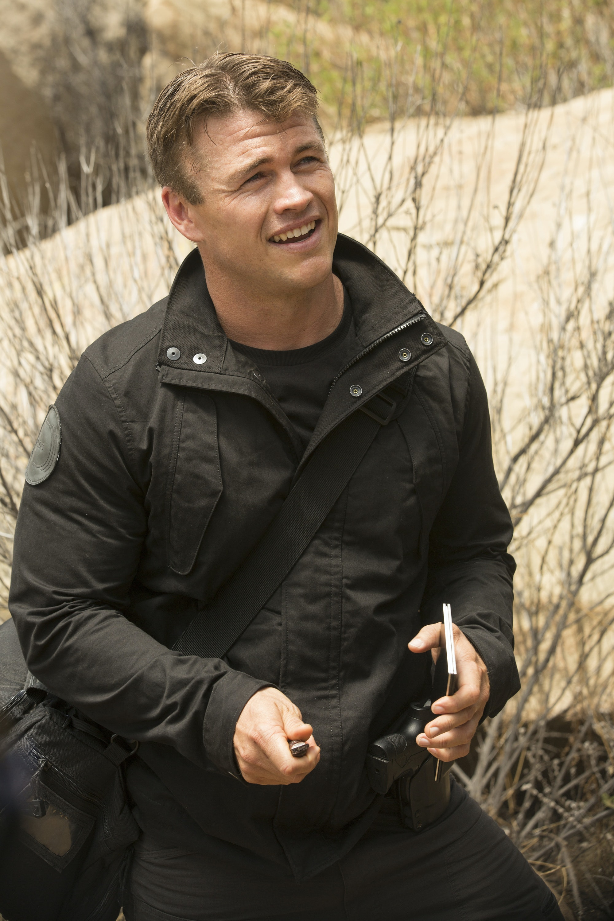 Luke Hemsworth as Ashley Stubbs in 'Westworld'