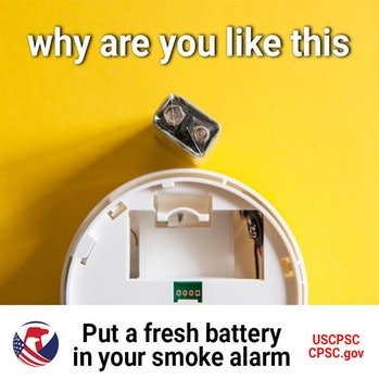 The CPSC has fire safety jokes.