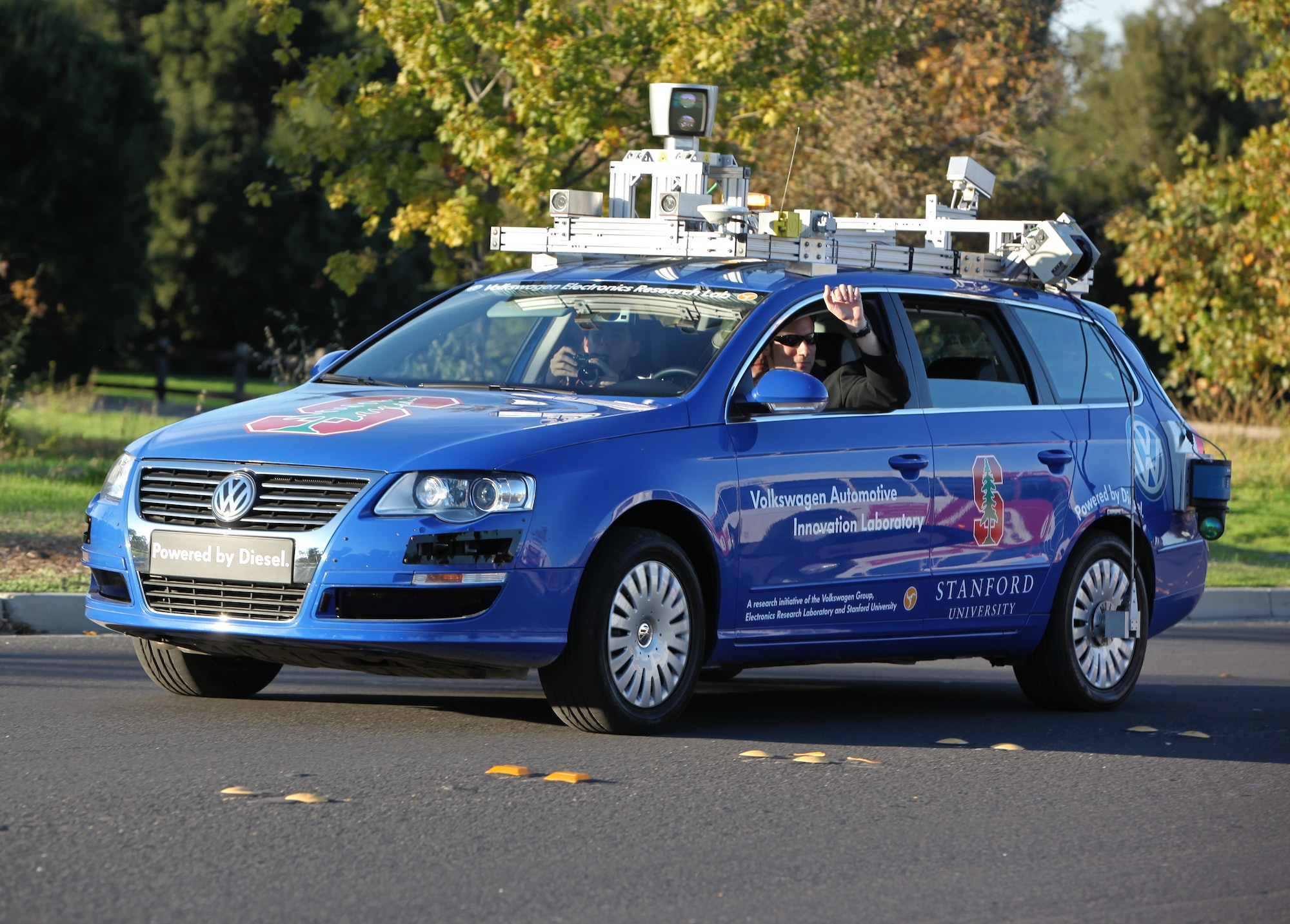 Will the autonomous car need a passport?