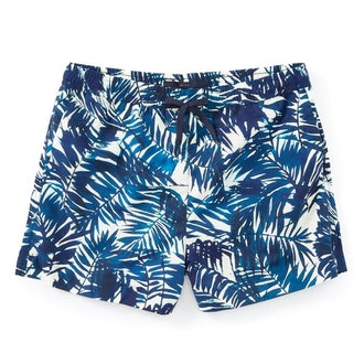 Suit Swim Palm Leaves