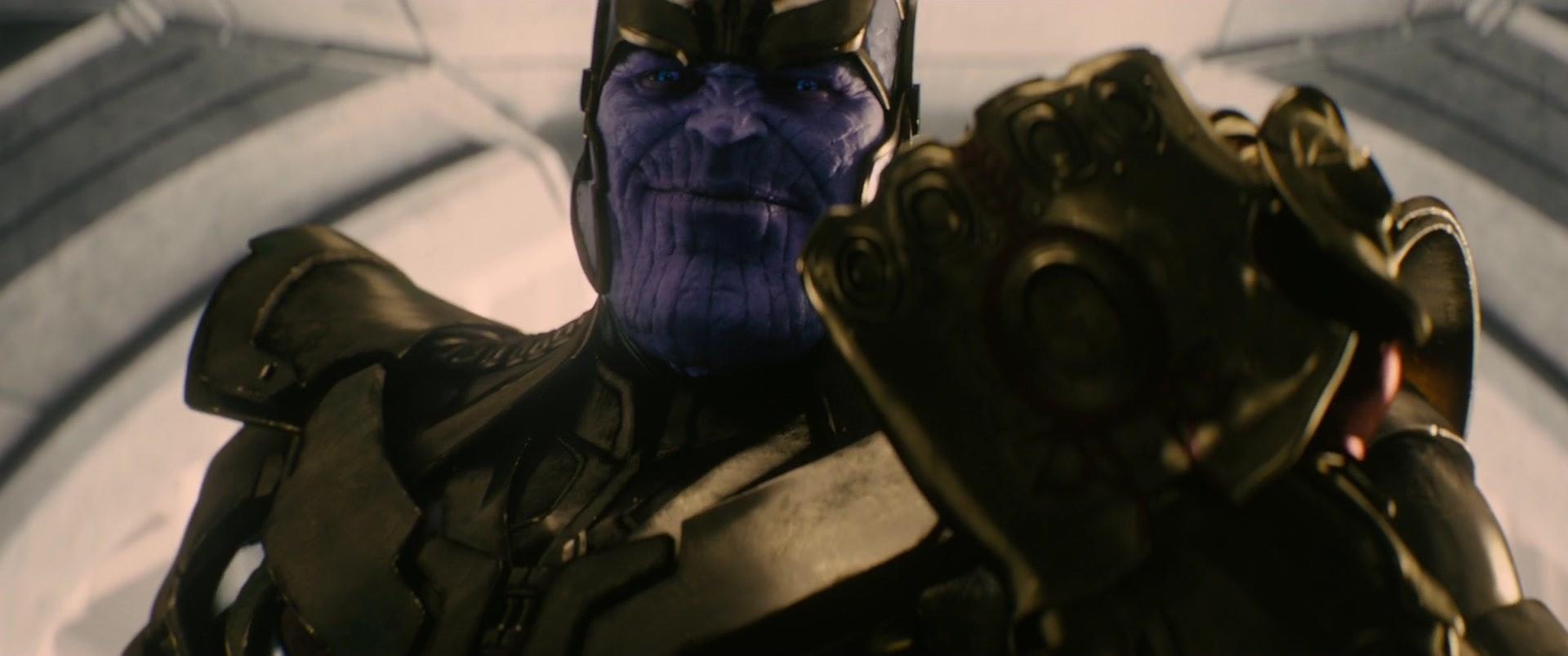Thanos Infinity Gauntlet MCU