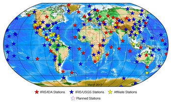 global seismographic network