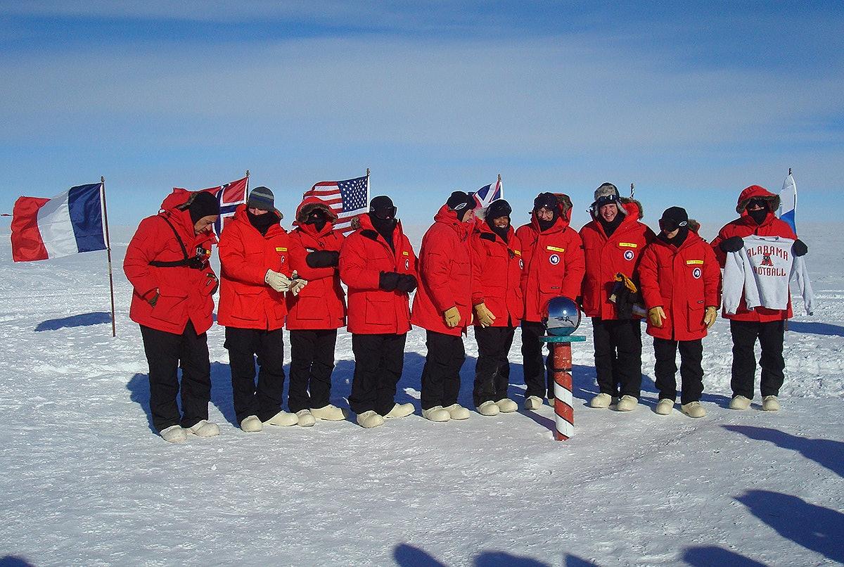 Congressional delegation visits Antarctica