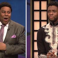 Chadwick Boseman's Black Panther Makes Hilarious Cameo on SNL