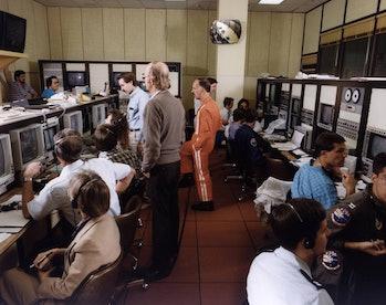 mission control NASA gold room 1989