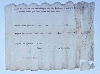 The reverse of the note.