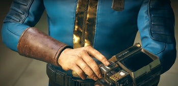 Looks like the default protagonist is male again, but you'll almost definitely be able to choose a female character in 'Fallout 76'.