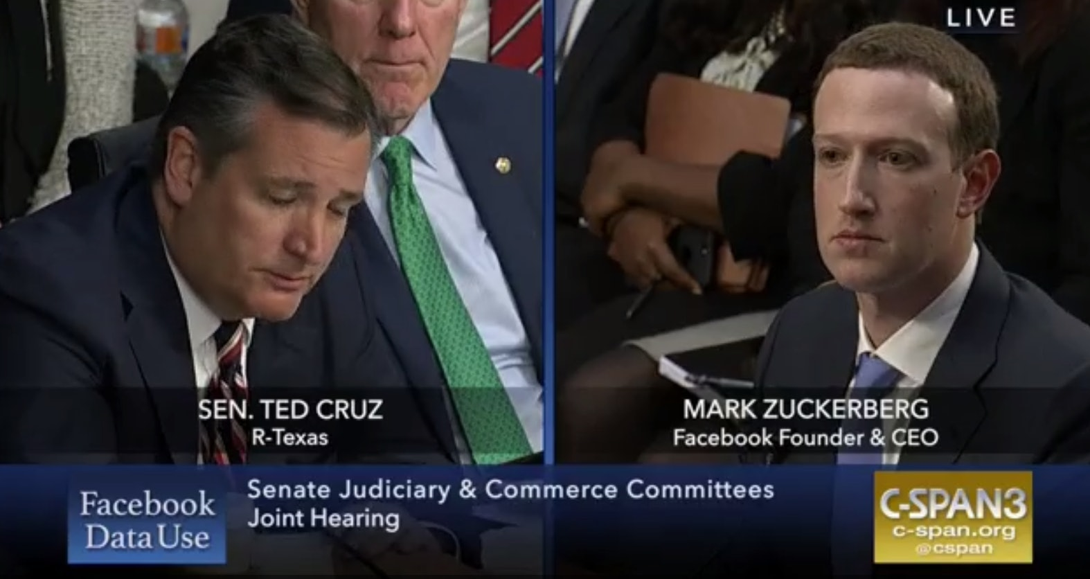 Ted Cruz didn't ask Zuckerberg about Cambridge Analytica, perhaps because his campaign gave it $5.8 million.