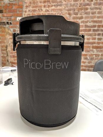 picobrew home brewing kit beer