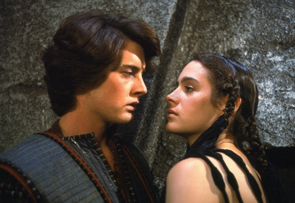 Kyle McLachlan and Sean Young in 1984's Dune