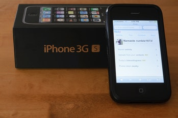 iPhone 3GS on flickr