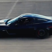 Watch This Modified Corvette Set a New Speed Record for an All-Electric Car