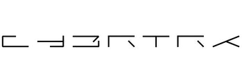 Tesla's Cybertruck logo.