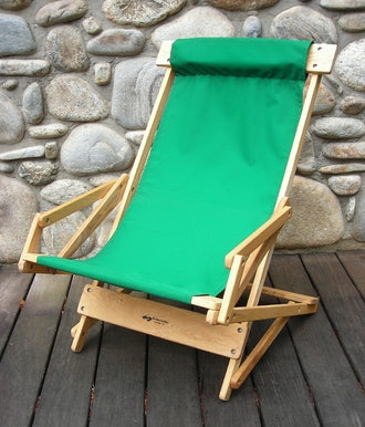 Sling Recliner Rocking Chair by Blue Ridge Chair