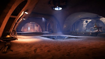 Jabba's Palace as it appears in 'Star Wars: Battlefront II' as part of the 'Solo: A Star Wars Story' update.