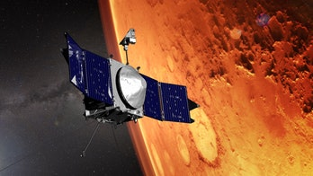 NASA's MAVEN mission collected data on Mars' atmosphere.