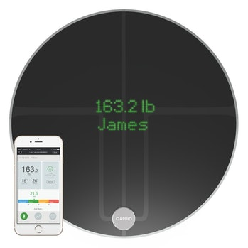 QardioBase2 WiFi Smart Scale and Body Analyzer: monitor weight, BMI and body composition, easily store, track and share data. Free app for iOS, Android, Kindle. Works with Apple Health