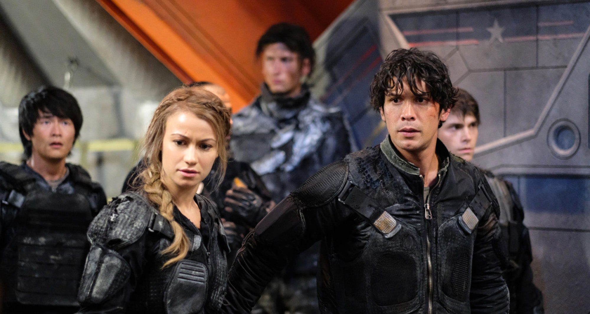 "Bob Morley as Bellamy Blake in ""The 100"""