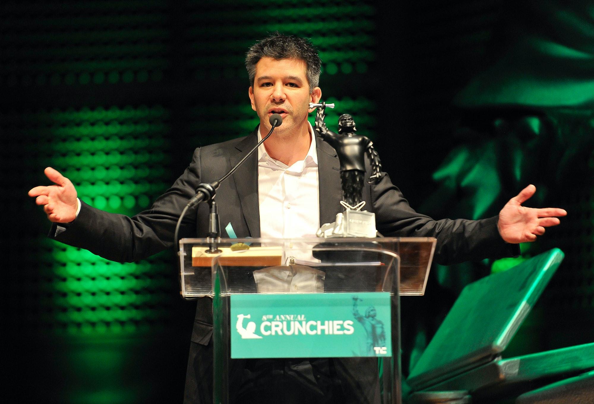Travis Kalanick in 2014