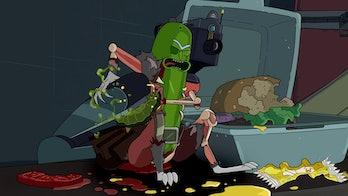 pickle rick staple