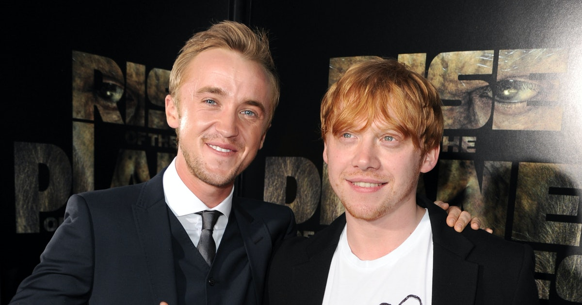 These Harry Potter Reunion Photos With Tom Felton & Rupert Grint Are So Magical