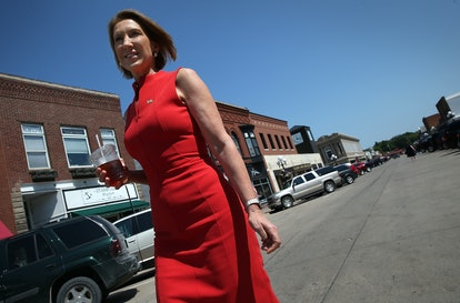 That Time Carly Fiorina Got Caught Dissing Her Opponents
