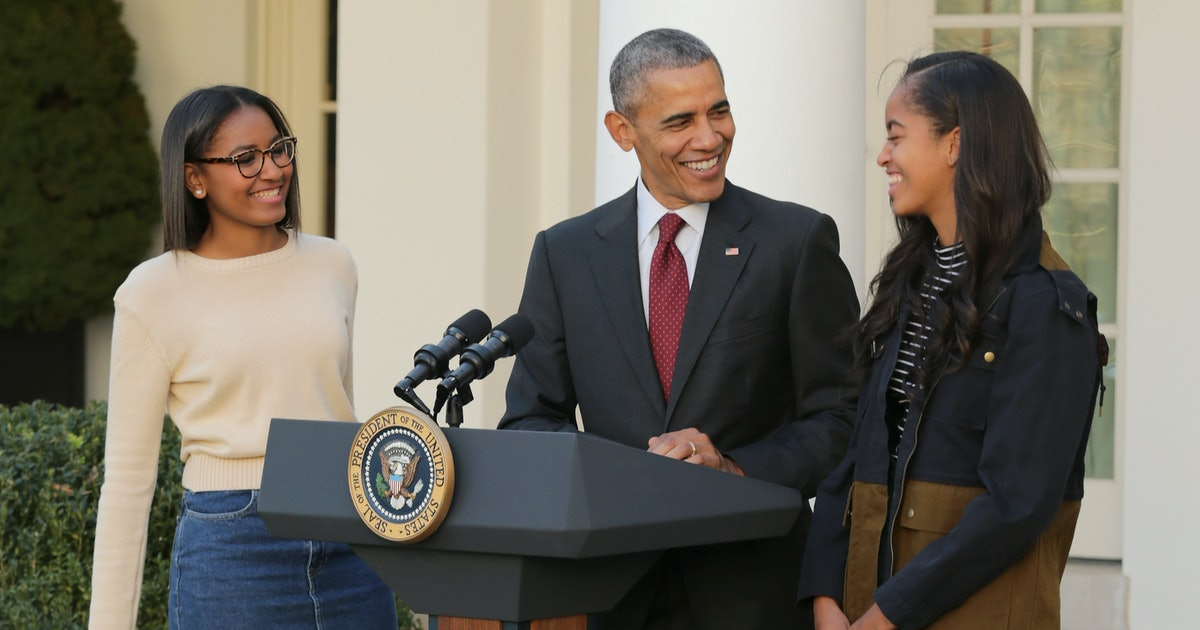 Photos Of Obama With His Daughters Shows The Former President Valued Time With His Girls