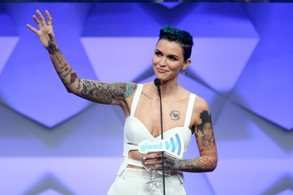 Ruby Rose.  Photo via Getty Images