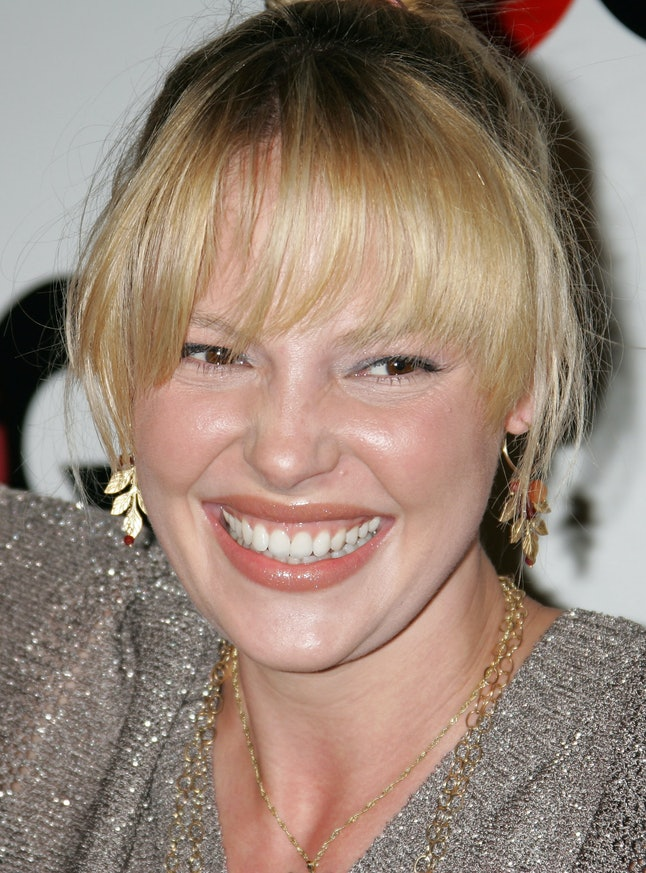Katherine Heigl S Short Brown Hair Will Make You Do A