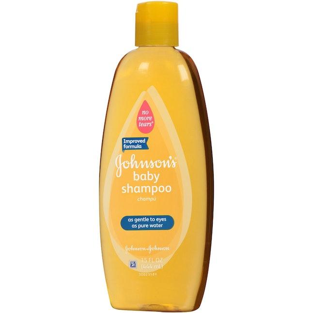 Baby shampoo eye