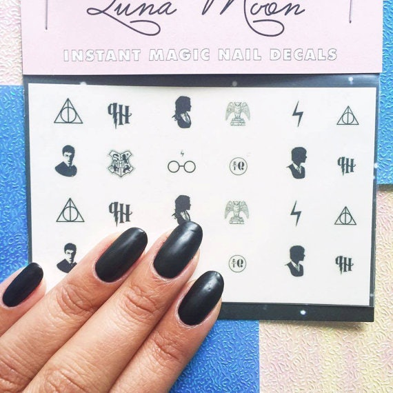 8 Harry Potter Manicures That Will Make Your Nails Look Magical