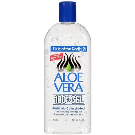 Fruit Of The Earth Aloe Vera Gel On Natural Hair