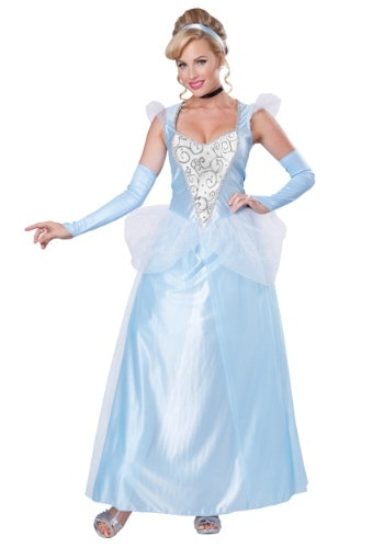 Plus Size Cinderella Costume $40 Halloween Costumes  sc 1 st  Bustle & How To Dress Like A Disney Princess For Halloween