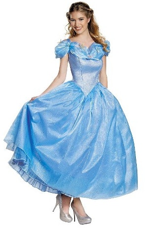 Womenu0027s Cinderella Movie Cinderella Prestige Adult Costume $100 ...  sc 1 st  Bustle & How To Dress Like A Disney Princess For Halloween