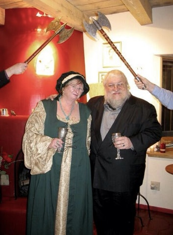 39 game of thrones 39 creator george r r martin 39 s actual - App that puts santa in your living room ...