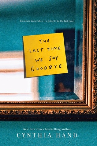 The Last Time We Say Good-Bye, For Teenage Depression