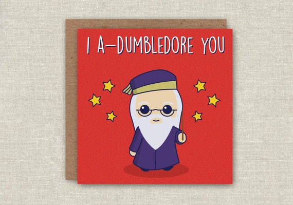 15 harry potter inspired birthday and greeting cards everyone will an a dumbledoreable card for any occasion bookmarktalkfo Gallery