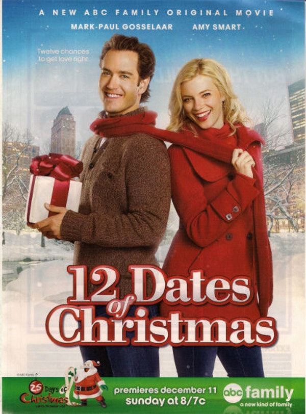 12 dates of christmas is the only abc family original christmas movie available to stream on netflix so its pretty special the movie is also available - Abc Family Original Christmas Movies