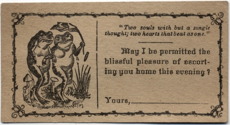 Victorian Flirtation Cards Prove Pick Up Lines Have Long Been The Universal Language Of Lust