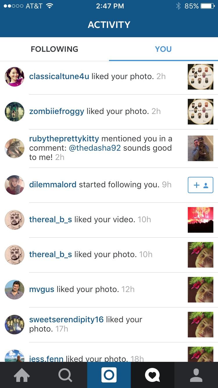 Friends Who Unfollowed Me On Instagram