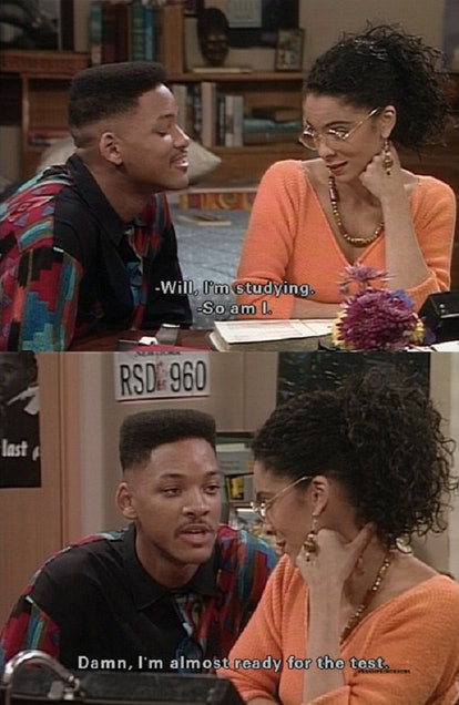 Will Smith using a cheesy Fresh Prince pick up line
