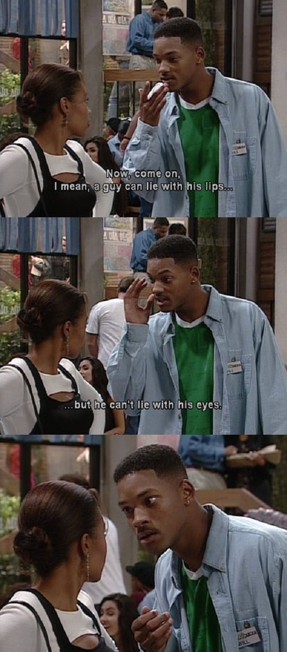Will Smith pick up line in Fresh Prince