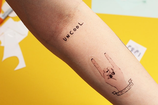 How To Make Temporary Tattoos At Home Even If You Suck At Drawing ...