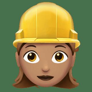 Image result for construction hat emoji