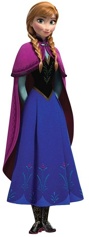 Anna from frozen halloween costume is easier to build than a the flowy skirt solutioingenieria Image collections