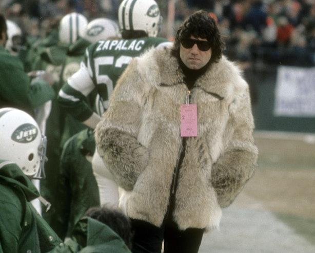 10 Things Joe Namath S Super Bowl Coat Looks Like